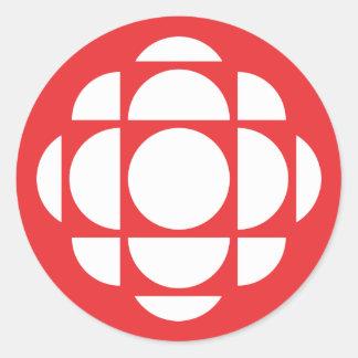 Sticker Rond Gemme de CBC/Radio-Canada