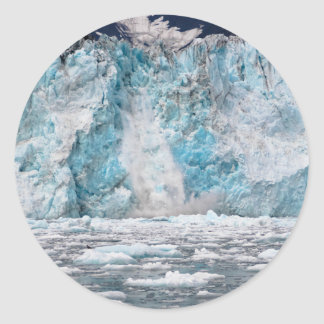 Sticker Rond glacier13