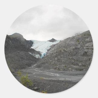 Sticker Rond glacier18
