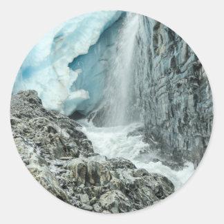 Sticker Rond glacier19