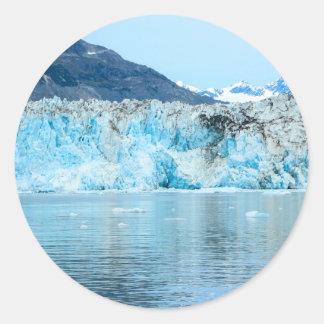Sticker Rond glacier2
