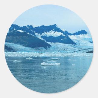 Sticker Rond glacier4