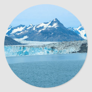 Sticker Rond glacier Alaska