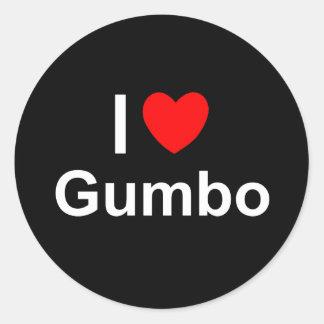 Sticker Rond Gombo