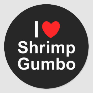 Sticker Rond Gombo de crevette