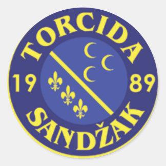 Sticker Rond GrbTorcideSandzak