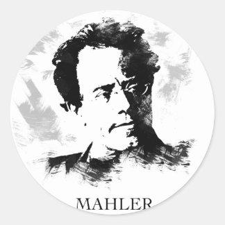 Sticker Rond Gustav Mahler
