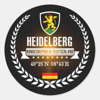 Sticker Rond Heidelberg