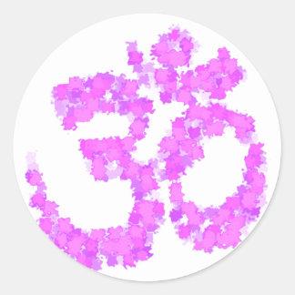 Sticker Rond hindu2