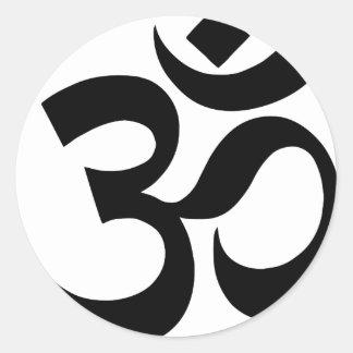 Sticker Rond hindu3