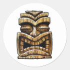 Sticker Rond Homme de Tiki