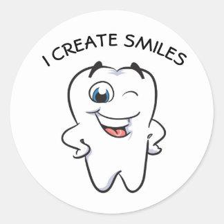 Sticker Rond I te croit SMILES !