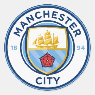 Sticker Rond Insigne d'équipe de football