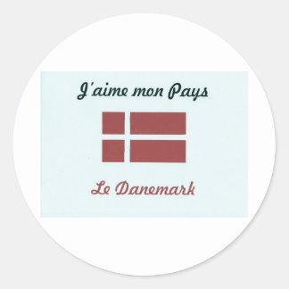 Sticker Rond J'aime le Danemark.jpg