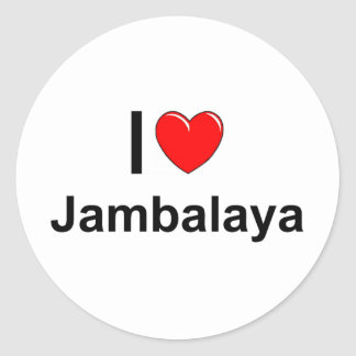 Sticker Rond Jambalaya