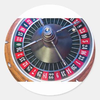 Sticker Rond Jeu de roulette