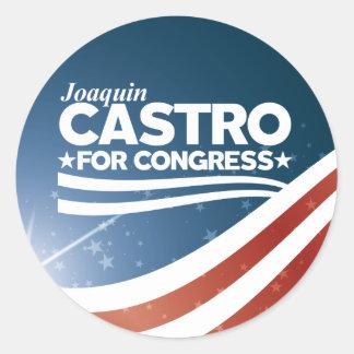 Sticker Rond Joaquin Castro