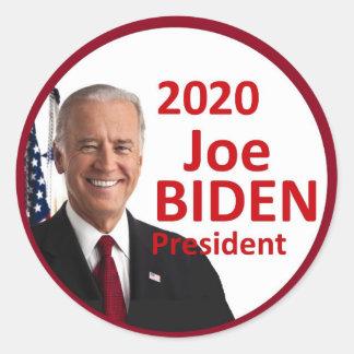 Sticker Rond Joe Biden 2020
