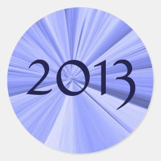 Sticker Rond Joint 2013 d'enveloppe