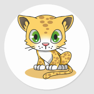 Sticker Rond K-bruit Kitty
