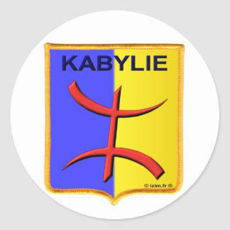 Sticker Rond kabylie kabyle amazigh algérie