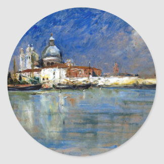 Sticker Rond Karl Skånberg de Venise