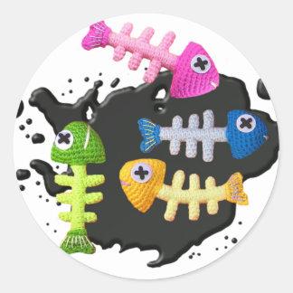 Sticker Rond KIDFISHYlarge