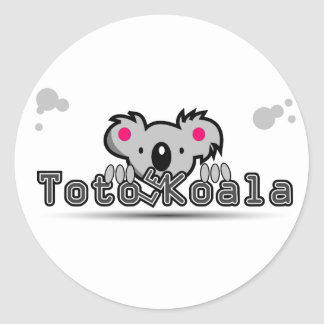 Sticker Rond koala