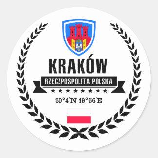 Sticker Rond Kraków