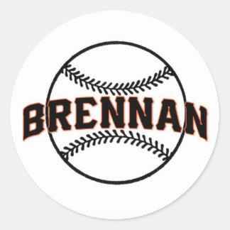 Sticker Rond La barre Mitzvah de Brennan