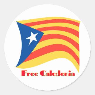 Sticker Rond La Catalogne libre