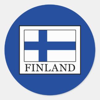 Sticker Rond La Finlande