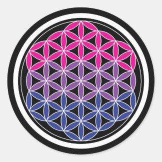 Sticker Rond la géométrie biSacred