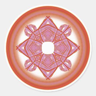 Sticker Rond La géométrie sacrée