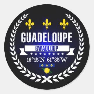 Sticker Rond La Guadeloupe