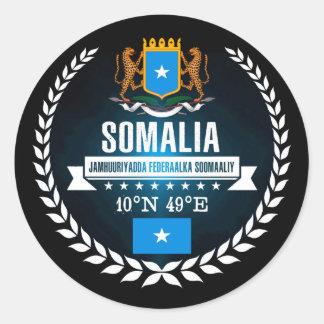 Sticker Rond La Somalie