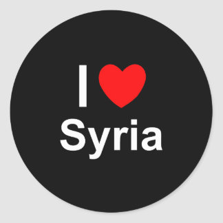 Sticker Rond La Syrie