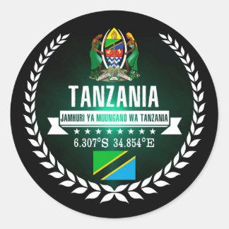 Sticker Rond La Tanzanie
