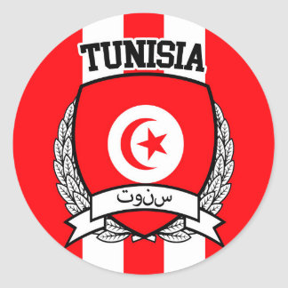 Sticker Rond La Tunisie