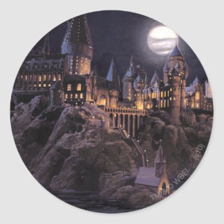 Sticker Rond Lac castle | de Harry Potter grand à Hogwarts