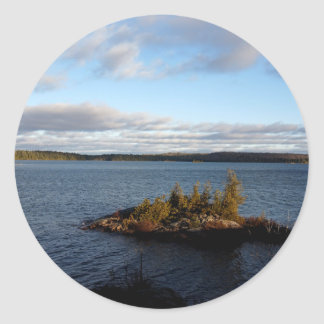 Sticker Rond Lac du nord ontario