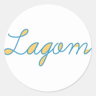 Sticker Rond Lagom