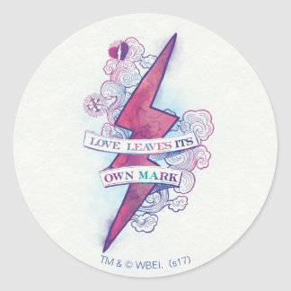Sticker Rond L'amour du charme | de Harry Potter laisse sa