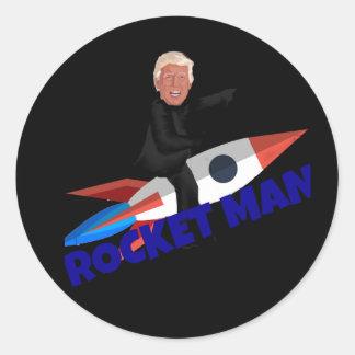 Sticker Rond L'atout monte un Rocket