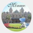 Sticker Rond Le beau Monaco