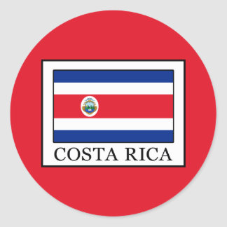 Sticker Rond Le Costa Rica