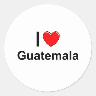 Sticker Rond Le Guatemala
