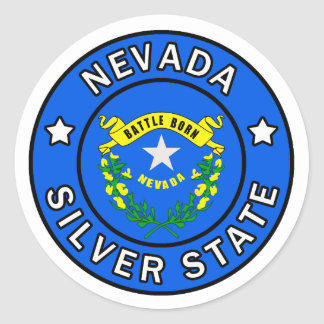 Sticker Rond Le Nevada