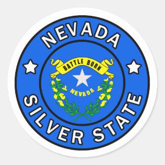 Sticker Rond Le Nevada