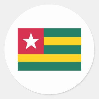 Sticker Rond Le Togo